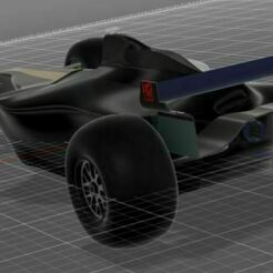 f1 car 3.JPG Download STL file F1 Car  • 3D printer model, Mak0o0o0