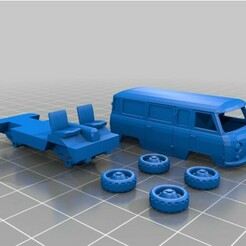 uaz-452.jpg Download free STL file UAZ-452 1:87 • 3D print template, ibex1968