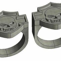 Capturaharley.JPG Download free STL file Harley rings • 3D printing template, hoscarsl13