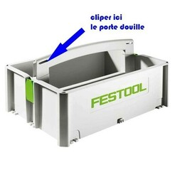 P166208.jpg Download free STL file socket holder of 13 for festool box • 3D printing template, posew