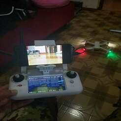 photo5807583623384248628.jpg Télécharger fichier STL gratuit Supporto smartphone + eachine rotg02 par Fimi A3 • Objet à imprimer en 3D, Ryoma