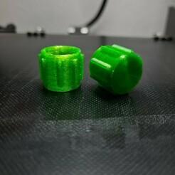 20210122_172209.jpg Download GCODE file Cap for caulk/silicone cartrige/tube • 3D printer object, kostaslitis