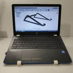 IMG_20210111_231308.jpg Télécharger fichier STL gratuit Support pour ordinateur portable (HP) • Modèle imprimable en 3D, 3dfabrikamne