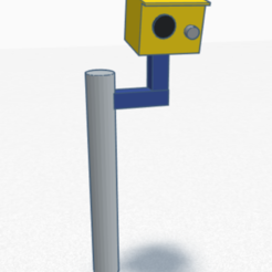 speed camera.PNG Download free STL file uk speed camera • Template to 3D print, justinhanson87