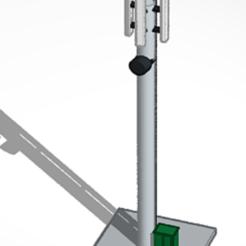 mobile phone mast.PNG Download free STL file mobile phone mast • 3D printer template, justinhanson87