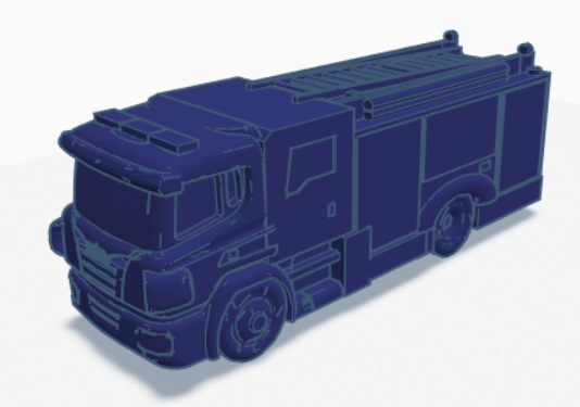 uk fire engine.PNG Download STL file UK Scania fire engine • Object to 3D print, justinhanson87
