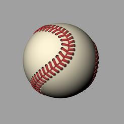 95B82E83C5C37145BC718851F1484D15.png Download free STL file Baseball • 3D print template, CrealityCloud