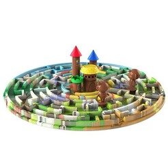 m.jpg Download free STL file Labyrinth • 3D printer model, CrealityCloud
