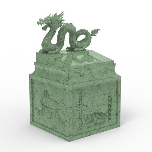 6f5530c2-2a49-463d-b015-7d3f29fb772c.png Download free STL file Dragon seal(Creality Cloud exclusive) • 3D printable model, CrealityCloud