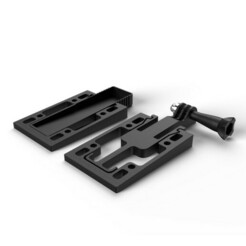 h.jpg Download free STL file Holder for motion camera • 3D printable design, CrealityCloud
