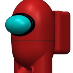 Photo_4.PNG Download free STL file candy dispenser - among us • 3D print object, Design3DPrinting
