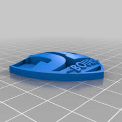 Porte_Clef_JL_BOURG.png Download free STL file JL BOURG - Porte clef • 3D printable object, Design3DPrinting