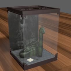 foto1.png Télécharger fichier STL Harry Potter Créatures magiques Basilic • Objet pour impression 3D, kevin_petrone