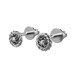 PL 4 CG.518.1.jpg Download STL file A-System Earring Rope gem 2 mm • Template to 3D print, landysheva