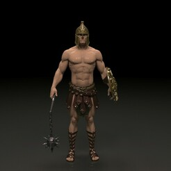 1.jpg Download free 3DS file Gladiator 3d model obj ,3ds file • 3D print model, x12345678pal