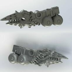 z7.jpg Download free STL file GENE CORRUPTED ARMOR BEARER MELTA • 3D print model, frostdragonforge
