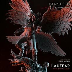 Harpy_1500.jpg Télécharger fichier STL La Reine Harpie - Dieux des ténèbres - Présupposé • Design à imprimer en 3D, DarkGods