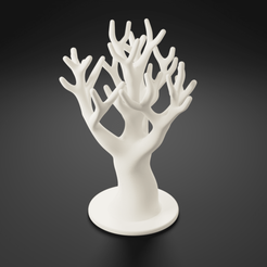 Preview1.png Download 3MF file Jewelry tree stand • 3D printing template, toprototyp