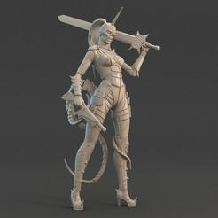 Model_3_A.jpg Download STL file Converted Assassin • 3D printing design, MadsMinis