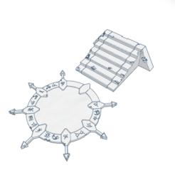 PotD1.png Download STL file Portal of the Damned • 3D printer model, modularwargaming