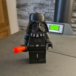 20201215_154833.jpg Download free STL file Darth Vader Giant Lego • 3D printable model, Nonoose