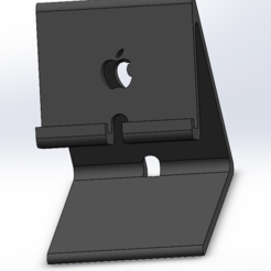 Iphone stand.PNG Download STL file Iphone Stand • Design to 3D print, Artist1984