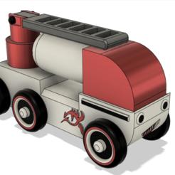 araba resim.PNG Download STL file  firetruck • 3D printing design, ustun3d