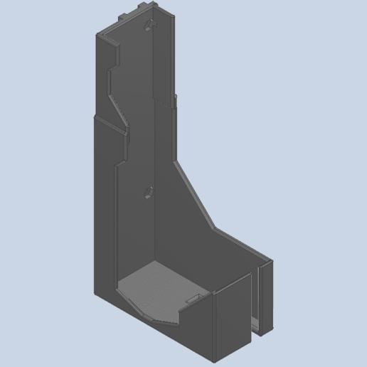psu2.png Download free STL file Quick Detachable Ender 3 PSU Power Supply MOUNT • 3D printer object, nrnathan