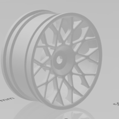 RIM_03_1.png Télécharger fichier STL gratuit RC Sport RIM Wheel 03 compatible Tamiya • Modèle imprimable en 3D, mfactory33