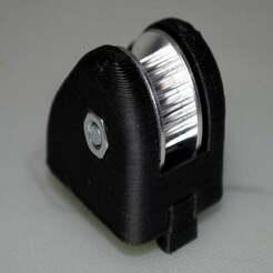 1.jpg Télécharger fichier STL gratuit Poulie de renvoi de 3 mm, montage 2020 • Plan à imprimer en 3D, McPaul
