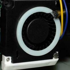 _DSC0022.jpg Download free STL file Ring for 4010 & 5050 fan • 3D printable template, McPaul