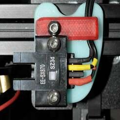 EE-SX670_Xmount.jpg Télécharger fichier STL gratuit EE-SX670 Monture optique Omron Endstop X • Modèle pour impression 3D, McPaul