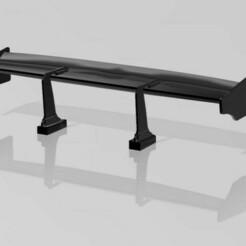 Liberty Walk Style Wing.jpg Télécharger fichier OBJ Aile de style Liber Walk à l'échelle 1:24 et 1:25 • Objet pour imprimante 3D, HowlingHobbies