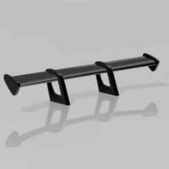SportWing.jpg Télécharger fichier OBJ Sport Wing / Spoiler 1:24 & 1:25 Échelle • Objet pour impression 3D, HowlingHobbies