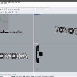 Sin título.png Download OBJ file Toyota Logo • 3D printable template, josechacur
