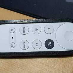 GoogleTv-A.jpeg Télécharger fichier STL Affaire Google Tv Chromecast Remote - STL • Plan imprimable en 3D, AlvaroRosati