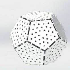 Dodecahedron.JPG Télécharger fichier STL WS2811 Dodécaèdre • Modèle à imprimer en 3D, Viperts