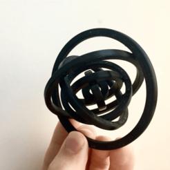 brave_0FzmbsoFY0.png Download free STL file Gyro (7 Rings, Ø78mm) • Model to 3D print, Kart5a