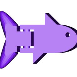 Snímek obrazovky 2021-01-18 v21.49.03.png Télécharger fichier STL gratuit poisson articulé • Plan à imprimer en 3D, vinccent980