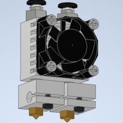 Capture10.PNG Télécharger fichier STL gratuit E3D Chimera+ Air Cooled Dual Extrusion Hotend CLONE • Objet pour impression 3D, sale723