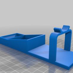 OneBlade_halter_v3.png Télécharger fichier STL gratuit Porte-rasoir OneBlade • Modèle pour imprimante 3D, 3Dreeees