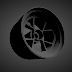 Pasco-Fame Bilbo 4H.png Download STL file Pasco-Fame Bilbo 4H rims with brakes and tires for Hot Wheels • 3D print object, rob3rto