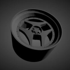 Advan SA3.png Download STL file Advan SA3 SCALABLE AND PRINTABLE RIMS • 3D print object, rob3rto