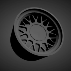 BMW Style 8.png Download STL file BMW Style 8 SCALABLE AND PRINTABLE RIMS • 3D printable template, rob3rto