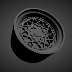 BBS E68.png Download STL file BBS E68 SCALABLE AND PRINTABLE RIMS • 3D print model, rob3rto