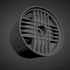 Melber Giugiaro Trama.png Download STL file Melber Giugiaro Trama rims with brakes and tires for Hot Wheels • 3D printing model, rob3rto