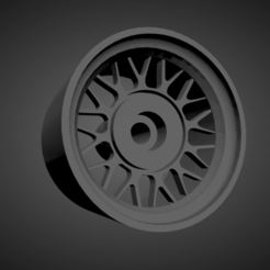 M Sport classic .png Download STL file M Sport classic rims with brakes and tires for Hot Wheels • 3D print template, rob3rto