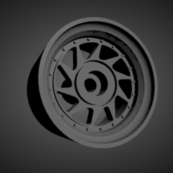 OZ Turbo.png Download STL file OZ Turbo rims with brakes and tires for Hot Wheels • 3D print model, rob3rto
