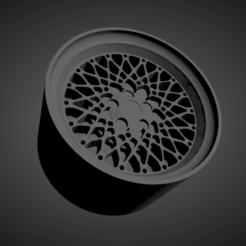 BBS E50.png Download STL file BBS E50 SCALABLE AND PRINTABLE RIMS • 3D printer template, rob3rto