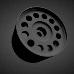 Ronal A1.png Download STL file Ronal A1 rims with brakes and tires for Hot Wheels • Design to 3D print, rob3rto